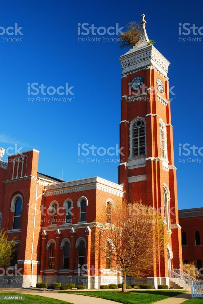 Decatur County Courthouse stock photo