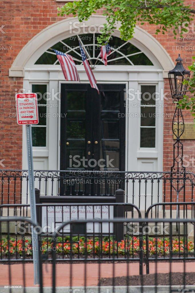 Decatur House Washington DC stock photo