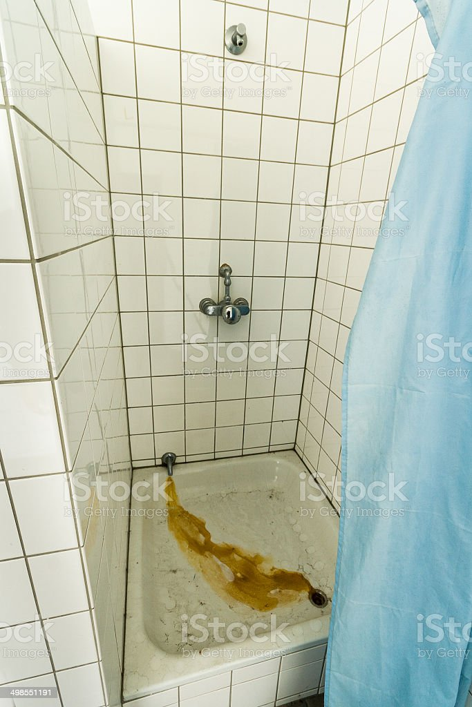 Decay Shower stock photo