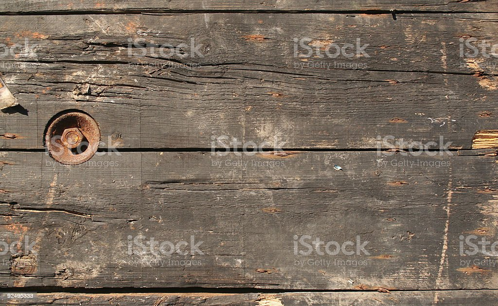 Decayed wood texture royalty-free stock photo