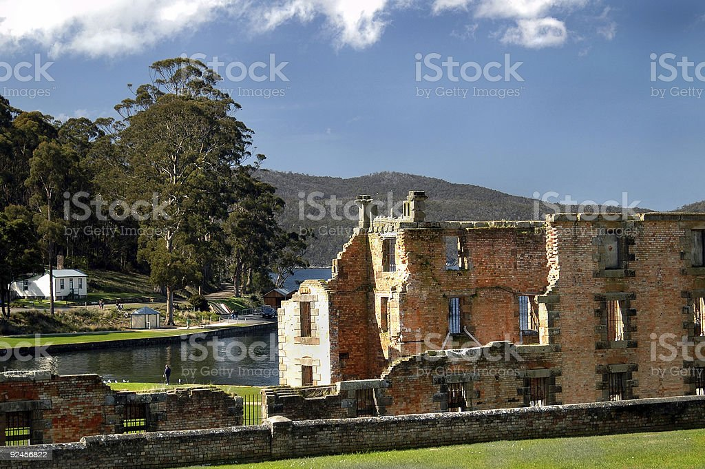 Decaying Building royalty-free stock photo