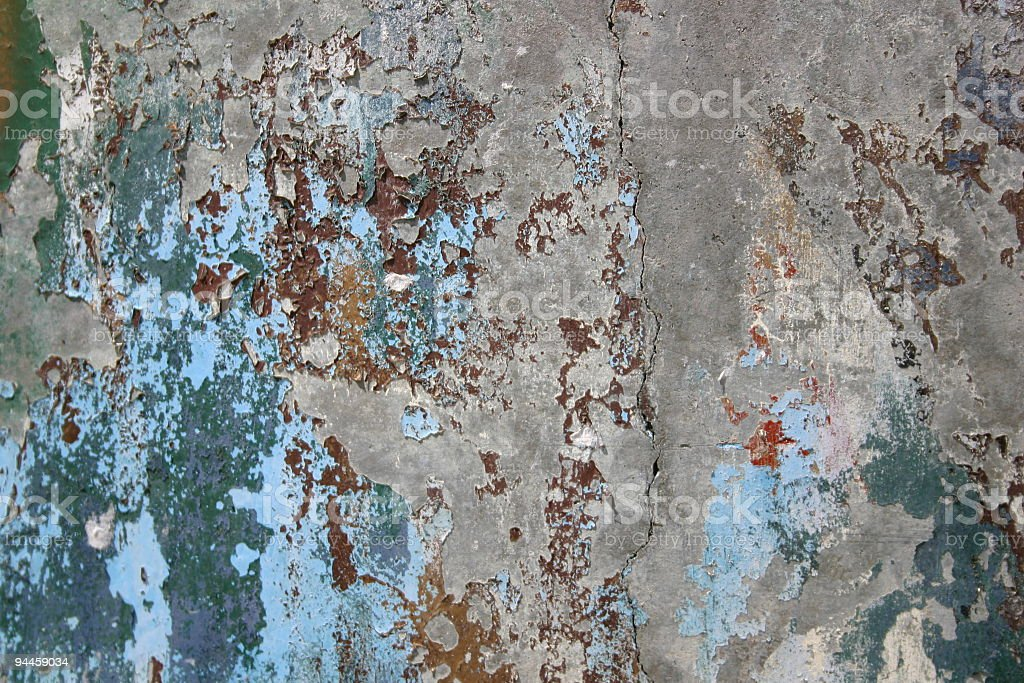 Decaying Surface royalty-free stock photo