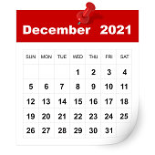 istock December 2021 calendar 1277526373