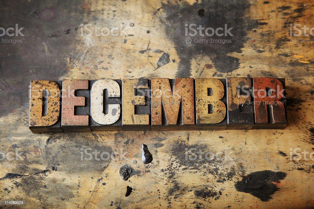 December... royalty-free stock photo