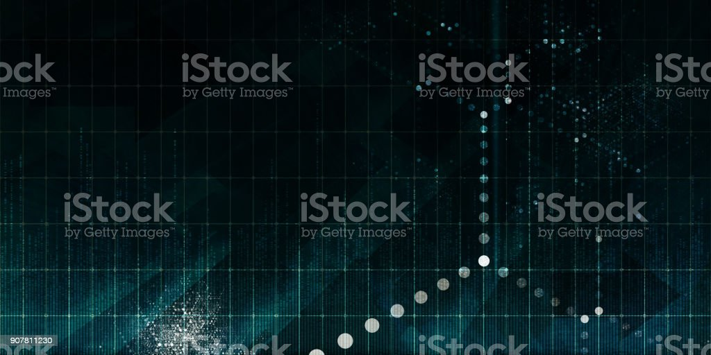 Decentralized Technology stock photo