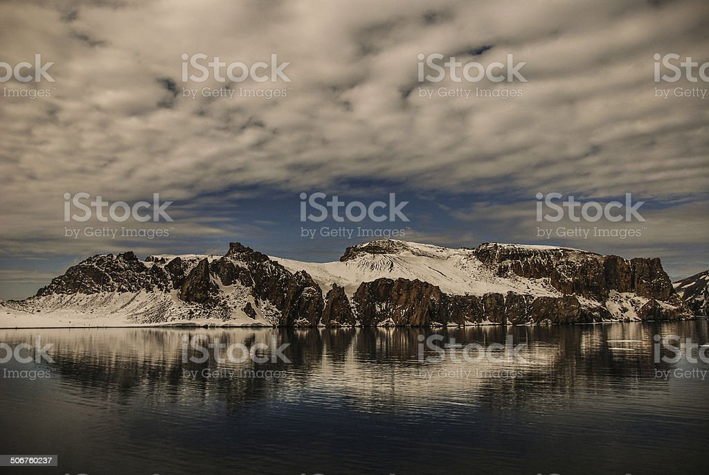 Deception Island stock photo