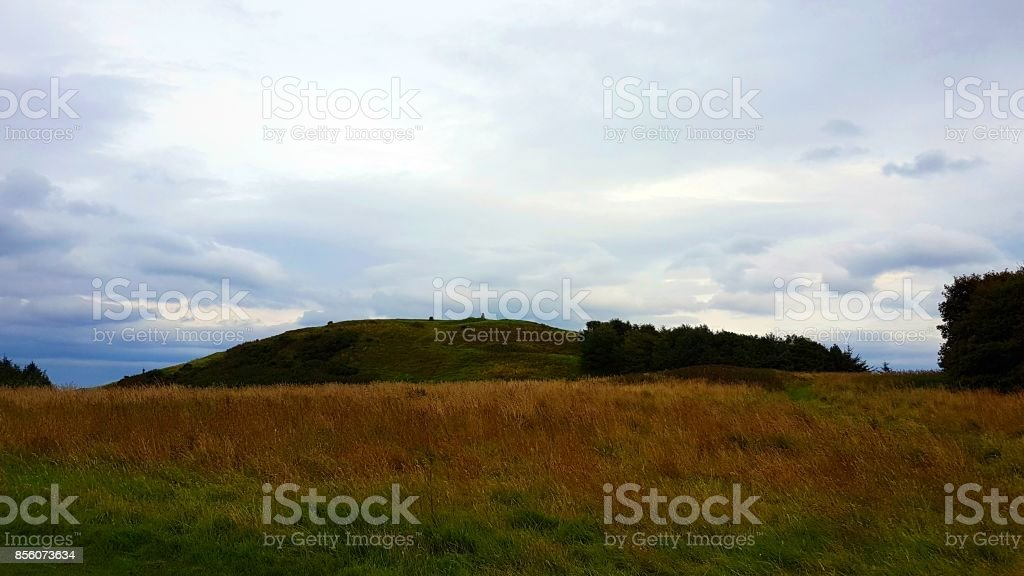 Dechmont Hill In The Distance stock photo