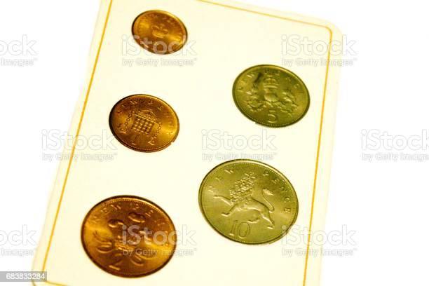 decimal coins 1971 pence british money