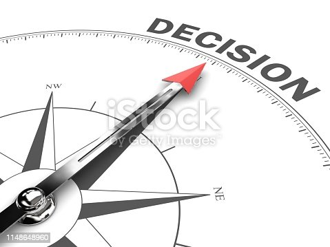 Decision compass business strategy choice direction