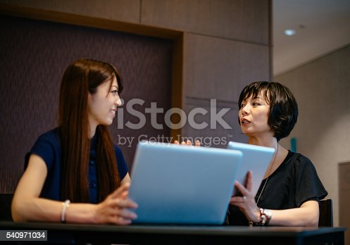 589445574istockphoto Decision making process in modern corporation with female leaders 540971034