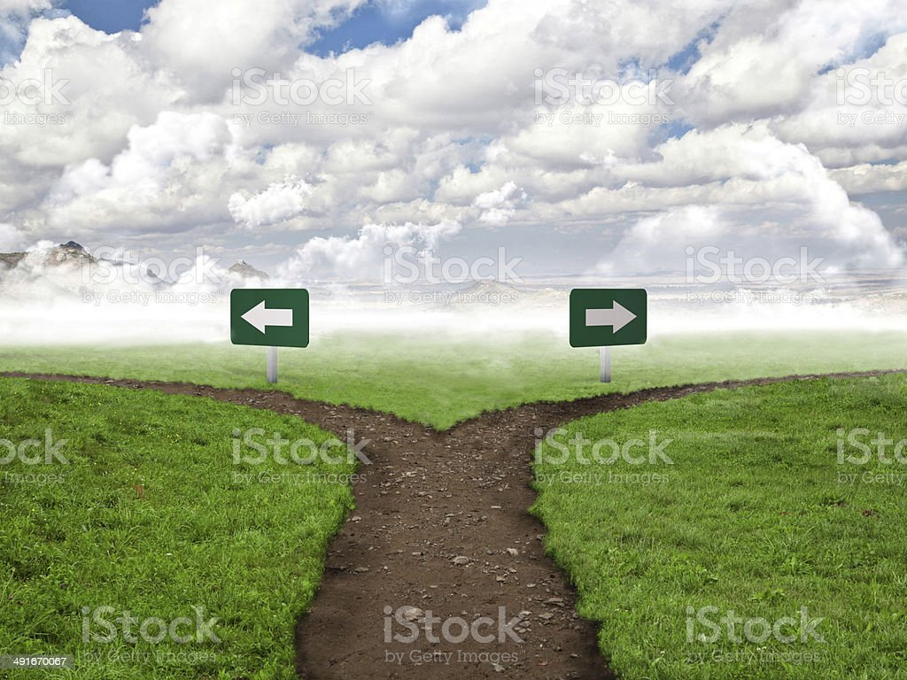 decision stock photo