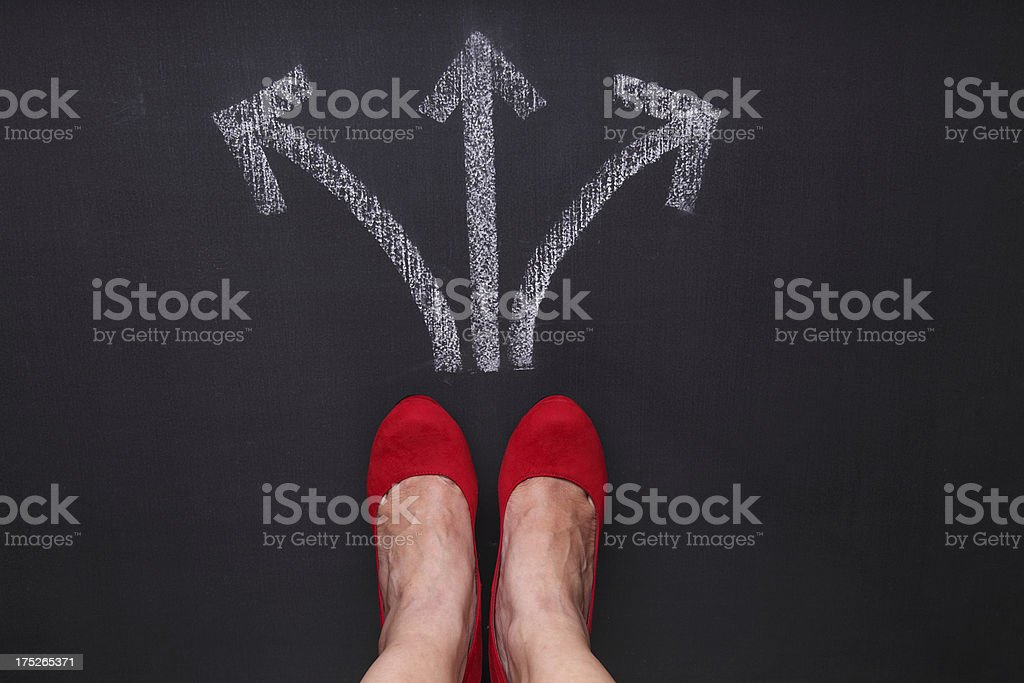 Decisions stock photo