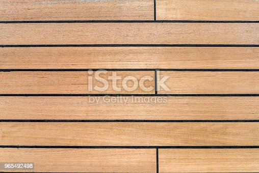 Deck fragment by the ship - wooden boards as background.