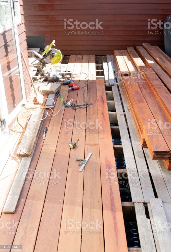 Diy Deck Building Stock Photo Download Image Now Istock