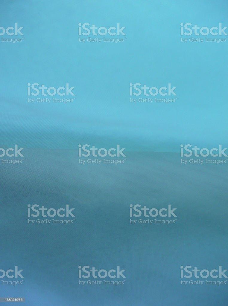 Deck in Fog stock photo