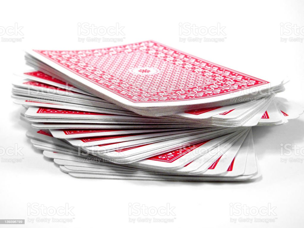 Deck of Cards stock photo