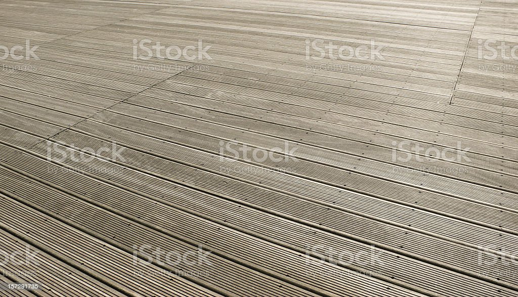 Decking Background stock photo