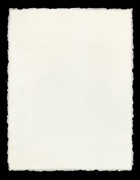 papel deckle bordas - orla - fotografias e filmes do acervo