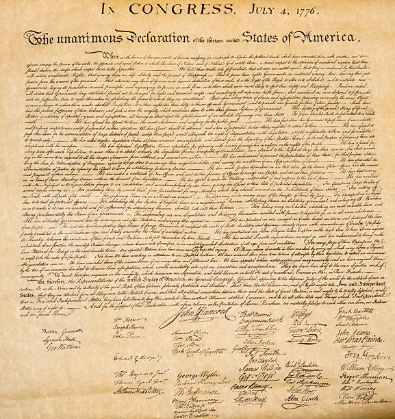 Royalty free declaration of independence pictures images and stock declaration of independence 4th july 1776 close up stock photo publicscrutiny Gallery