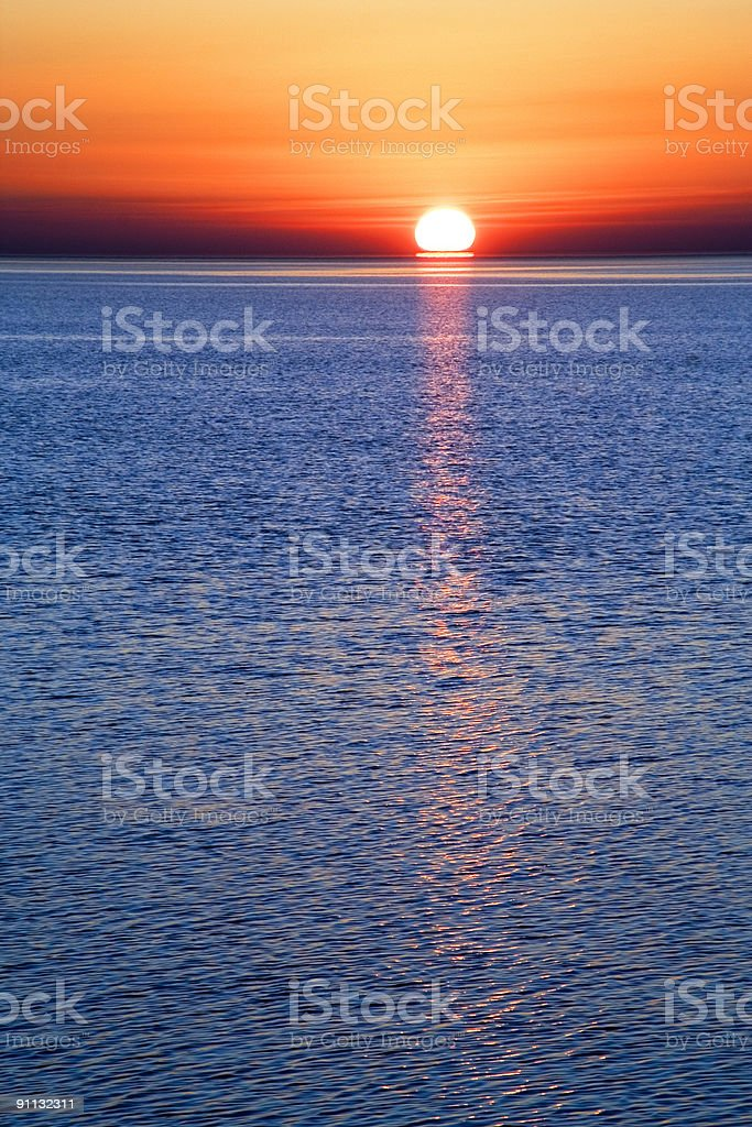 Decline in Siberia royalty-free stock photo