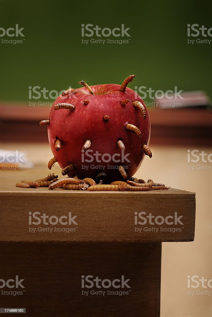 Decline of Education stock photo