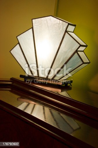 Deco Fan Lamp Stock Photo More Pictures Of Art Istock