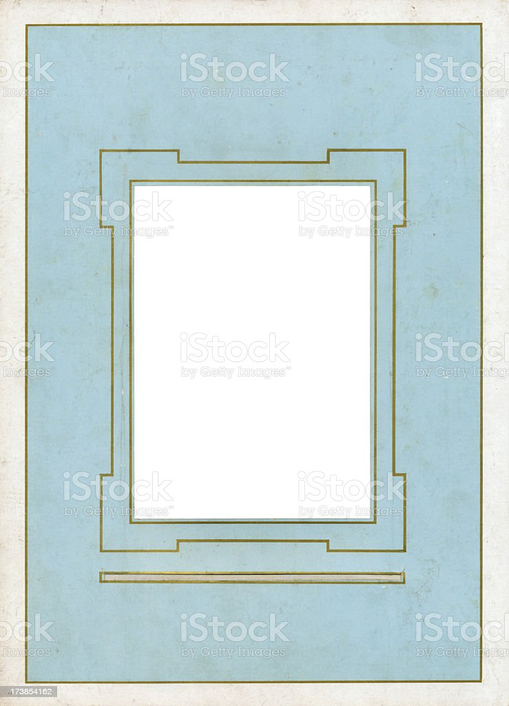 deco frame royalty-free stock photo