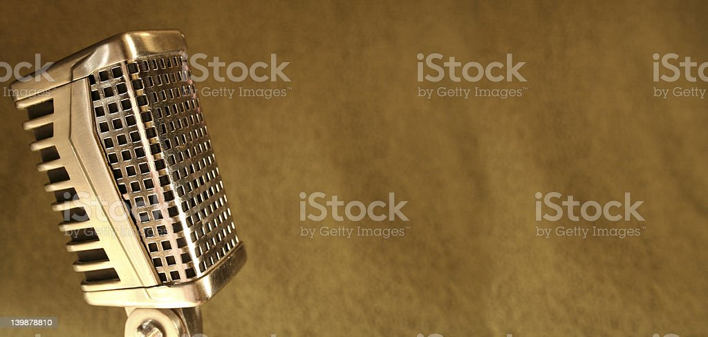 Deco Mic royalty-free stock photo