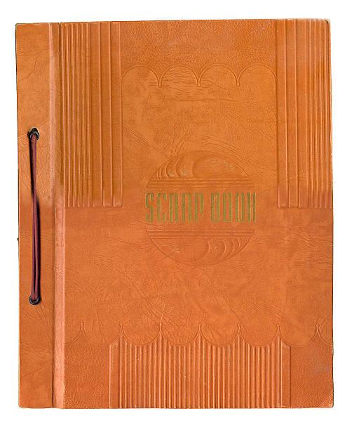 Deco Scrapbook stock photo