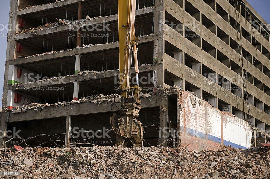 deconstruction stock photo