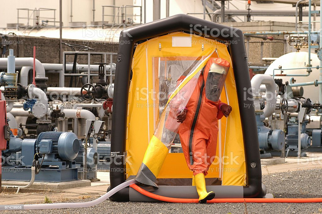 decontaminates stock photo