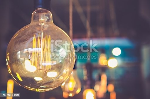 istock decor light bulb in coffee cafe 507517198