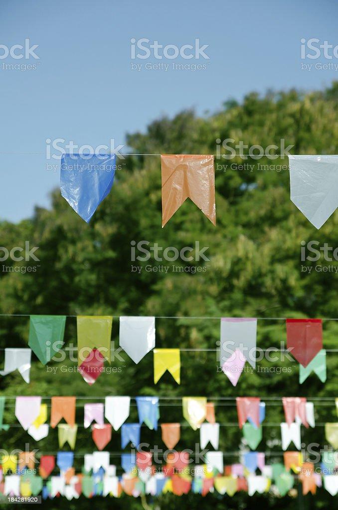 Decoração de Festa Junina royalty-free stock photo