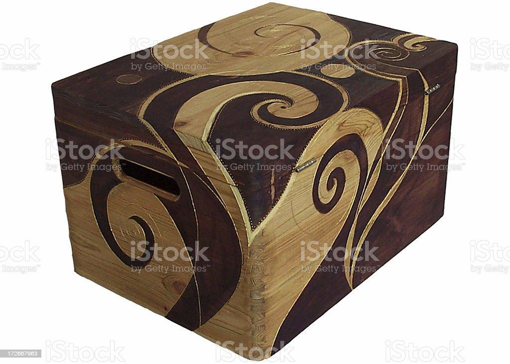 Decorated Box royalty-free stock photo