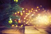 istock Decorated Christmas Tree 1186308470