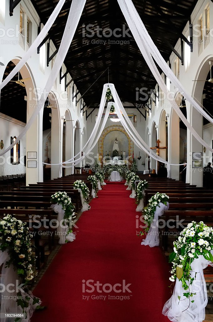 Decorated church royalty-free stock photo