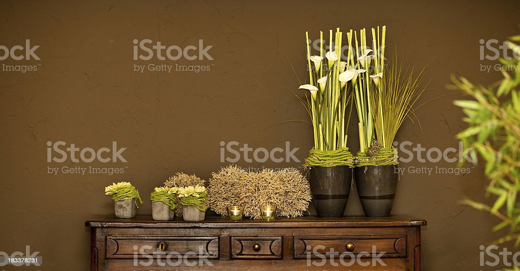 Decorated cupboard royalty-free stock photo