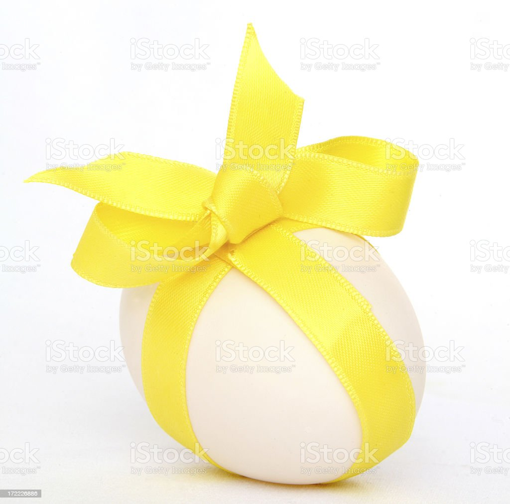 decorated large egg royalty-free stock photo