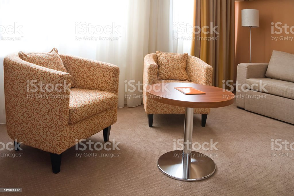 Decorated Living-room royalty-free stock photo
