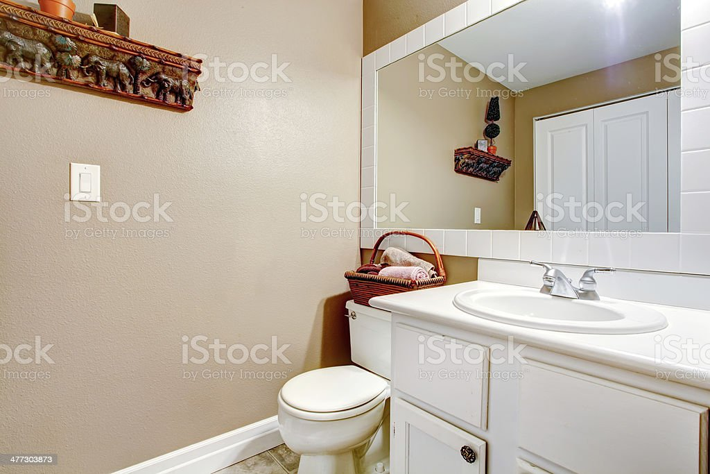Decorated Simple Bathroom Stock Photo Download Image Now Istock