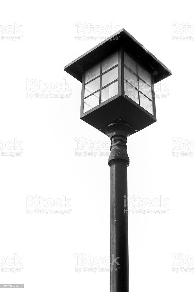 decorated street lamp photo libre de droits