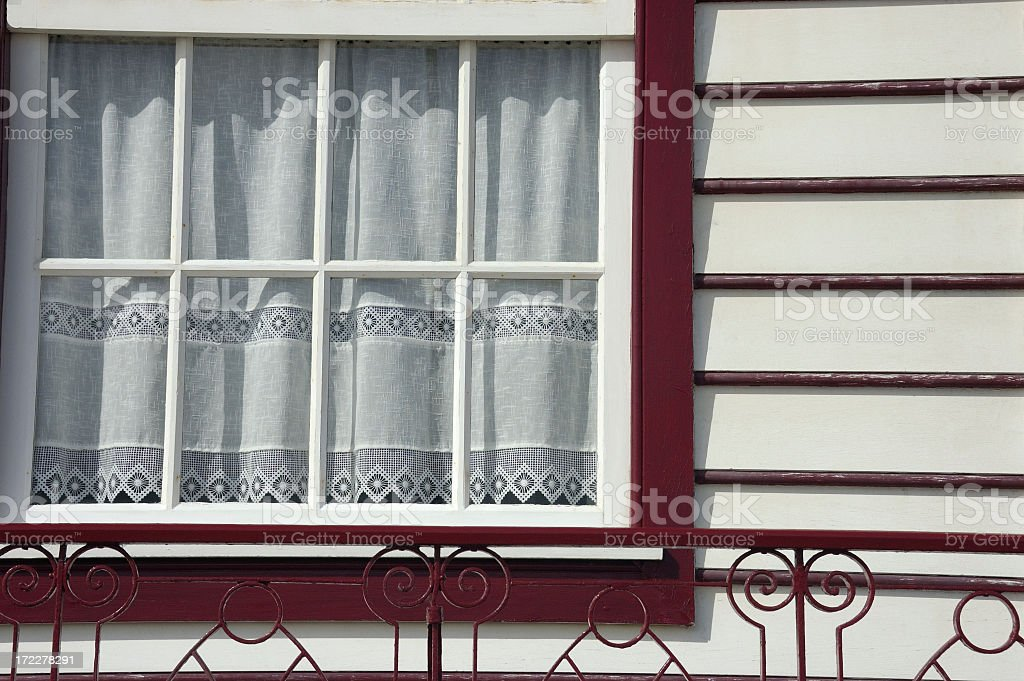 Decorated window royalty-free stock photo