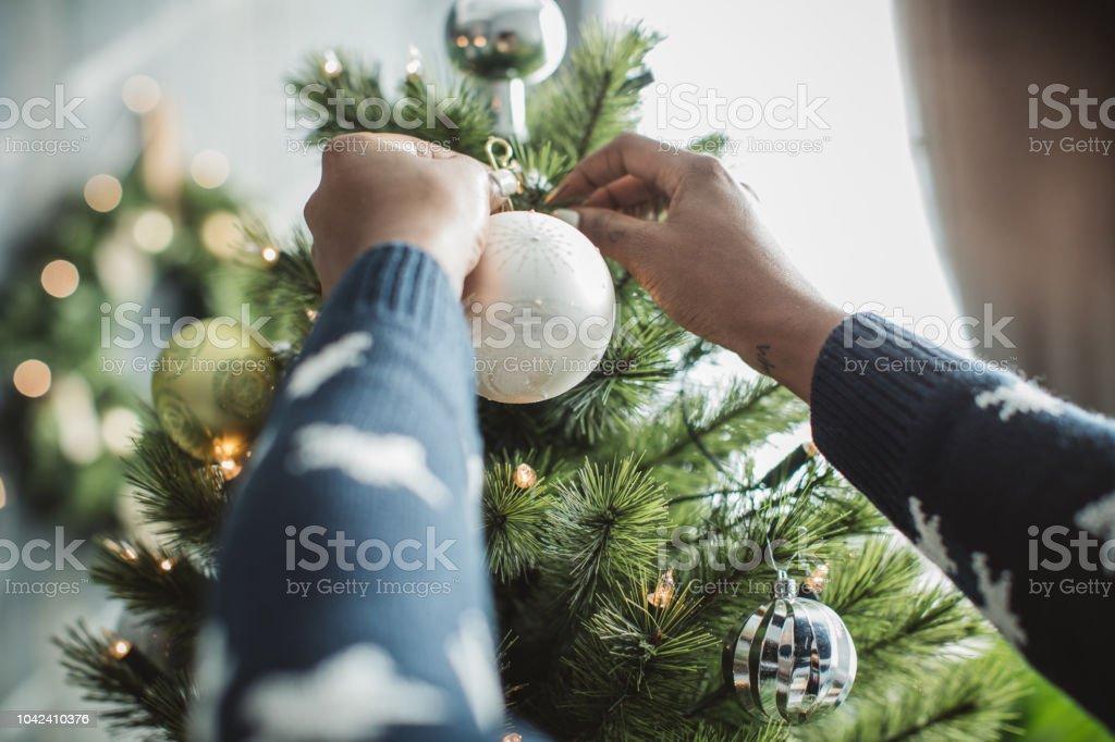 Weihnachtsbaum Herkunft.Dekorieren Weihnachtsbaum Stockfoto Und Mehr Bilder Von Afro