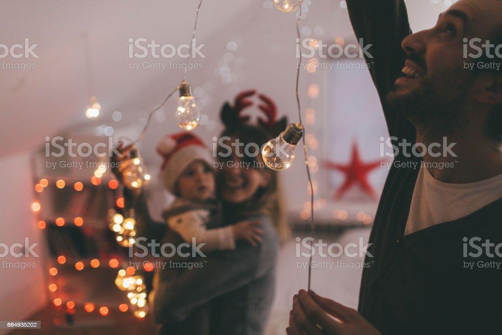Dekoration für Weihnachten Lizenzfreies stock-foto