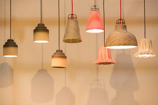 Decorating  lantern lamps
