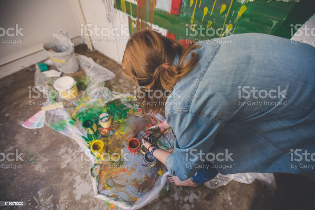 Decorating My Apartment Stock Photo - Download Image Now