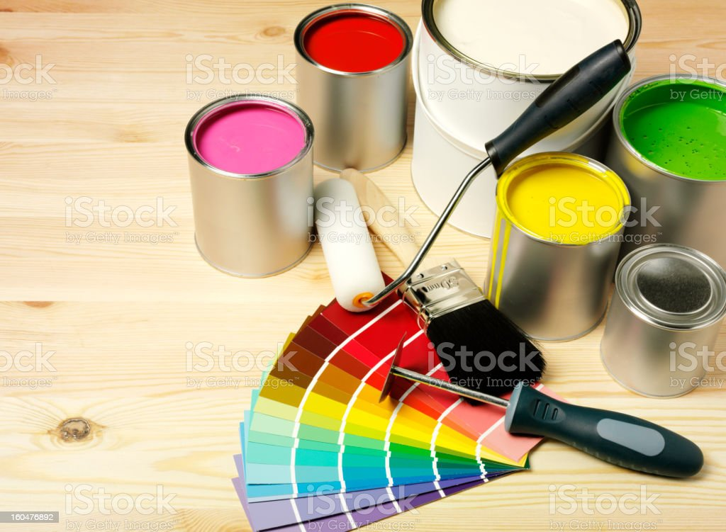 Decorating with Copy Space royalty-free stock photo