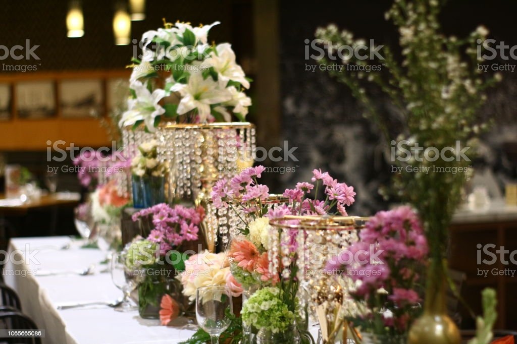 decoration bridal shower stock photo