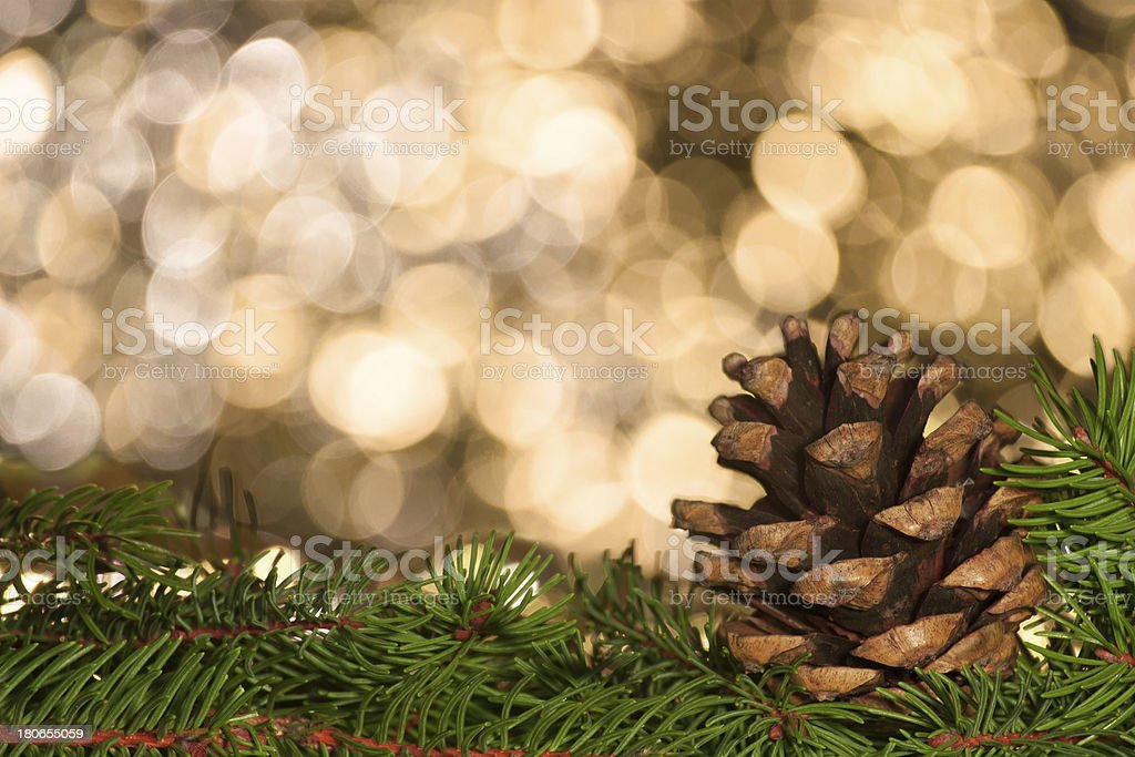 decoration cone stock photo