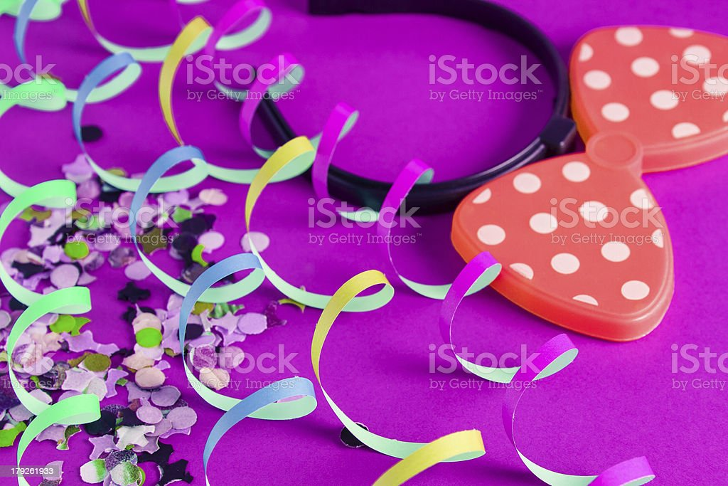 decoration for birthday royalty-free stock photo